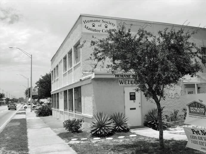 En este edificio funciona el Second Chance Adoption Center desde 1986.