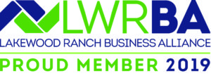 Lakewood Ranch Business Alliance Proud member 2019 banner