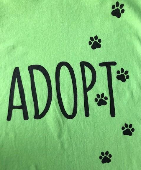 Green Adopt Tshirt